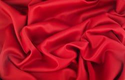 czerwieni bawełniana fala Zdjęcie Stock