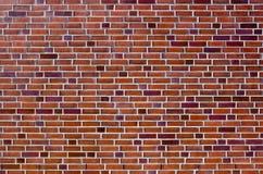 czerwieni ceglana ładna ściana zdjęcia royalty free