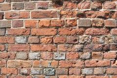 czerwieni ceglana stara ściana Fotografia Royalty Free