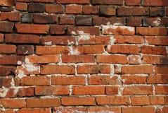 czerwieni ceglana stara ściana Zdjęcia Royalty Free