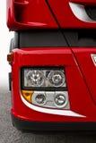 czerwieni ciężarówka Fotografia Royalty Free