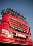 czerwieni ciężarówka Obrazy Stock
