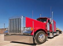 czerwieni ciężarówka obraz royalty free