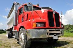 czerwieni ciężarówka obraz stock