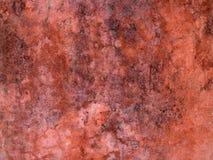 czerwieni ściana Zdjęcie Stock