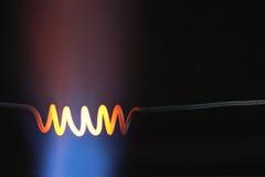 czerwieni gorąca spirala Zdjęcia Stock