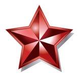 czerwieni gwiazda Zdjęcie Stock