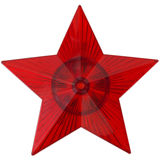 czerwieni gwiazda Obraz Stock