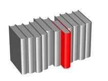 Czerwieni odmianowa książka obrazy stock