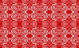czerwieni płytka Fotografia Stock