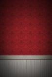 czerwieni pusta ściana Zdjęcie Stock