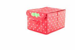 Czerwieni pusty pudełko Zdjęcie Royalty Free