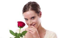 czerwieni różani kobiety potomstwa Obrazy Royalty Free