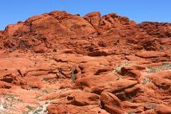 czerwieni skała obrazy stock