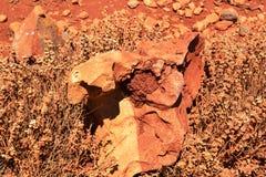 czerwieni skała Obraz Royalty Free