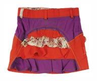 czerwieni spódnica Zdjęcie Royalty Free