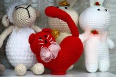 czerwieni zabawka Zdjęcie Stock