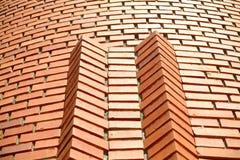 czerwona ściana cegły Zdjęcie Stock