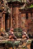 czerwona świątyni Fotografia Royalty Free