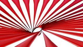 Czerwona Abstrakcjonistyczna zawijasa tła tapeta Zdjęcie Royalty Free