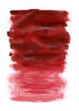 czerwona akrylowa konsystencja Zdjęcia Royalty Free