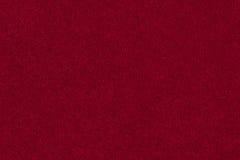 Czerwona aksamitna tekstura Zdjęcie Stock