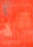Czerwona akwarela papieru tekstura Zdjęcia Stock