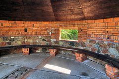Czerwona altana Zdjęcie Stock