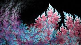 Czerwona Bańczasta płomienia fractal sztuka Obrazy Stock