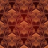 czerwona bezszwowa tapeta Fotografia Stock