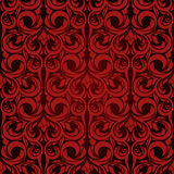 czerwona bezszwowa tapeta Zdjęcia Royalty Free