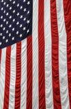 Czerwona biała i błękitna flaga amerykańska Zdjęcia Royalty Free
