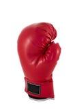 Czerwona bokserska rękawiczka Obrazy Royalty Free