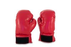 Czerwona bokserska rękawiczka Obraz Royalty Free
