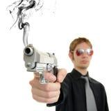 czerwona broń Zdjęcie Royalty Free