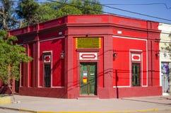Czerwona budynek fasada Fotografia Royalty Free
