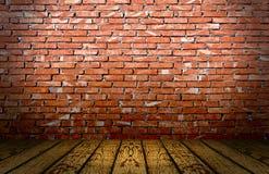 czerwona cegły scena Obrazy Royalty Free