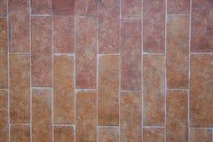 Czerwona ceramiczna cegły tekstura Zdjęcie Stock