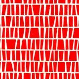 Czerwona ceramiczna tekstura Zdjęcia Stock