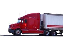 czerwona ciężarówka Obrazy Royalty Free