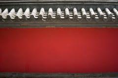 czerwona ściana tekstury Zdjęcie Stock