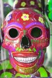 czerwona czaszka Zdjęcia Stock