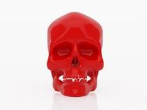 czerwona czaszki Zdjęcie Stock