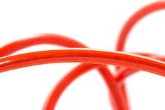 Czerwona dźwigarka zdjęcia stock