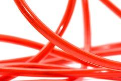Czerwona dźwigarka obrazy stock