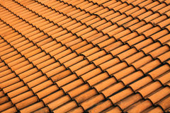 czerwona dachowa płytka Zdjęcie Royalty Free