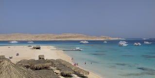 Czerwonego morza panorama Zdjęcie Royalty Free