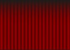Czerwona draperia Obrazy Stock