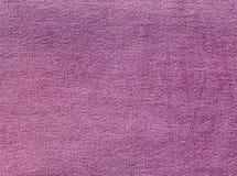 Czerwona drelichowa tekstylna tekstura Zdjęcie Royalty Free