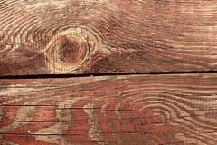 Czerwona drewniana patern makro- fotografia Zdjęcie Stock